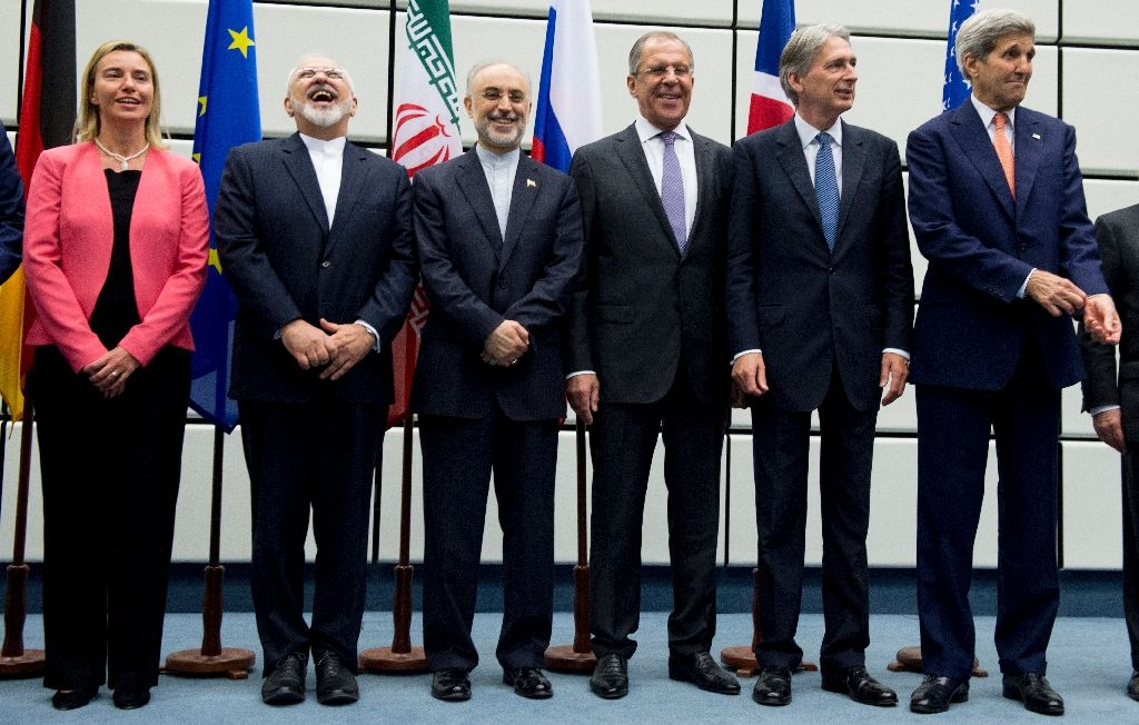 Iran and six major world powers reached a nuclear deal, capping more than a decade of on-off negotiations with an agreement in July 2015 (AFP Photo/Joe Klamar)
