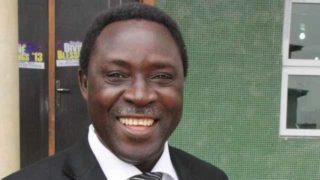 CAN Chairman, Bishop John Ibenu