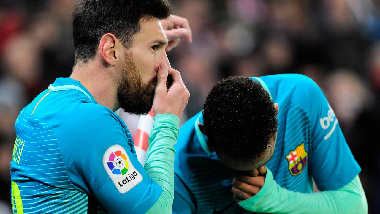 Barcelona 2-1 Leganes: Late Lionel Messi penalty gives hosts victory