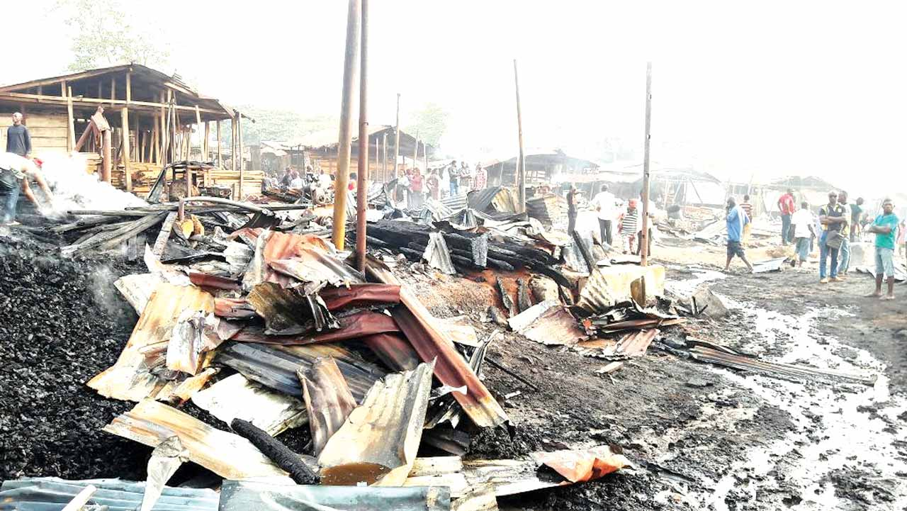 The burnt timber market