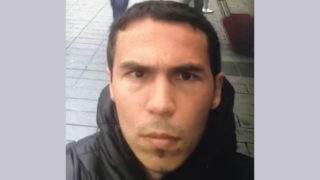 This hand out picture released by the Turkish police and taken from Dogan News Agency on January 2, 2017 shows the main suspect in the Reina nightclub rampage one day after a gunman killed 39 people, including many foreigners, in an attack at an upmarket nightclub in Istanbul where revellers were celebrating the New Year.  The Islamic State jihadist group on January 2, 2017 claimed the shooting rampage inside a glamorous Istanbul nightclub on New Year's night that killed 39 people, as police hunted the attacker who remains on the run. With foreigners making up the majority of those killed in Sunday's attack, families were due to reclaim the bodies of more than two dozen non-Turkish and mainly Arab victims. / AFP PHOTO / Dogan News Agency / Handout / Turkey OUT