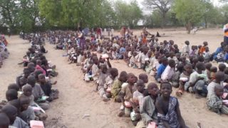 One of the IDP camps in Nigeria