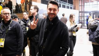 "PARK CITY, UT - JANUARY 21: Actor Jack Huston attends ""The Yellow Birds"" premiere on day 3 of the 2017 Sundance Film Festival at Eccles Center Theatre on January 21, 2017 in Park City, Utah. Nicholas Hunt/Getty Images for Sundance Film Festival/AFP  Nicholas Hunt / GETTY IMAGES NORTH AMERICA / AFP"