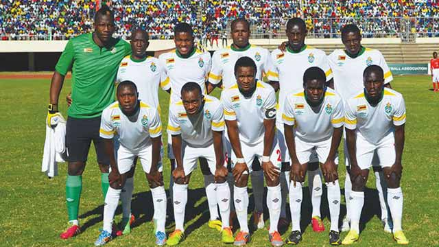 Zimbabwe's national football