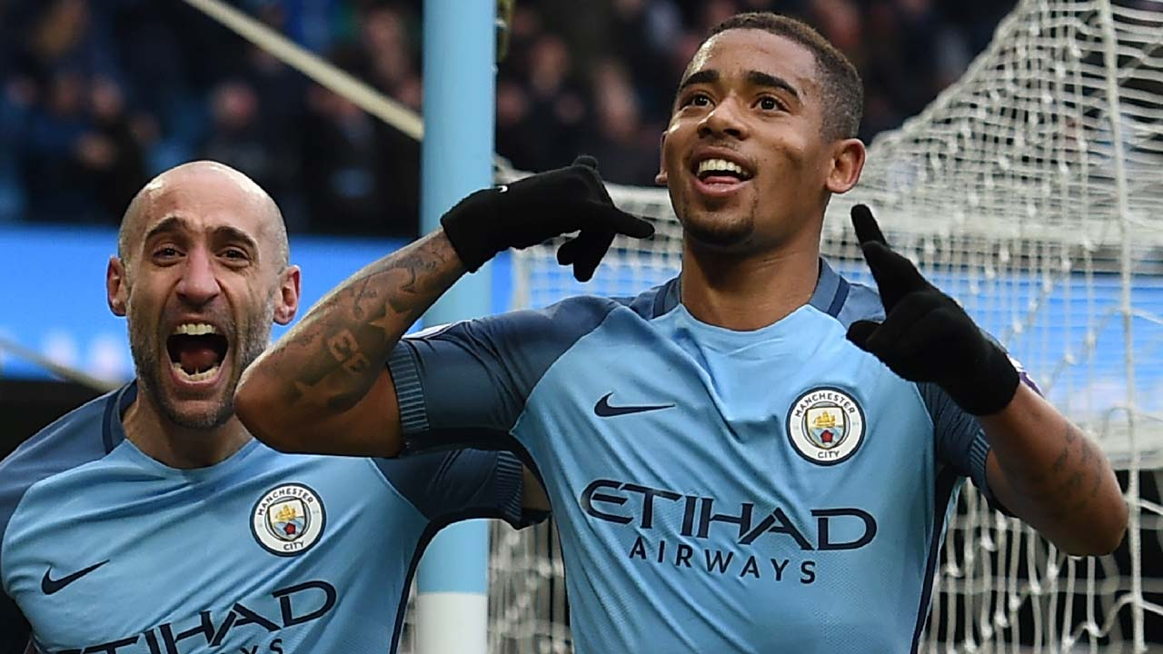Man City's Jesus out for 'two to three months' says Guardiola