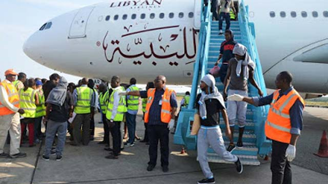 Another 171 Nigerians deported from Libya