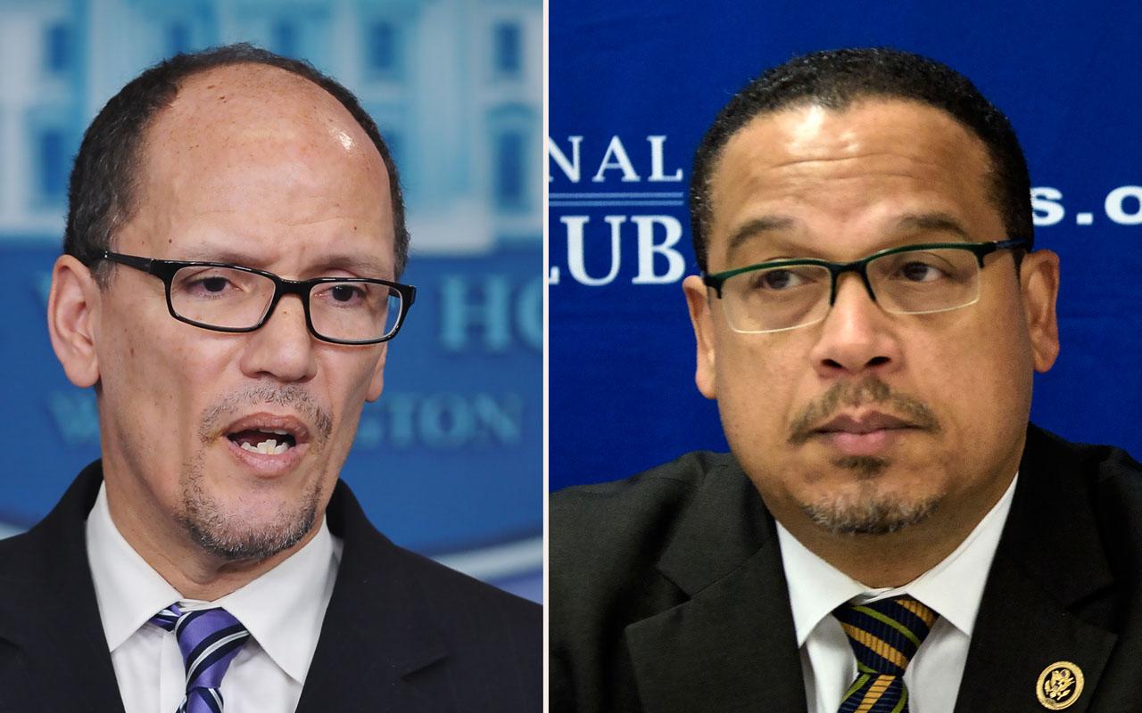 Ex-labor secretary Tom Perez elected DNC chair