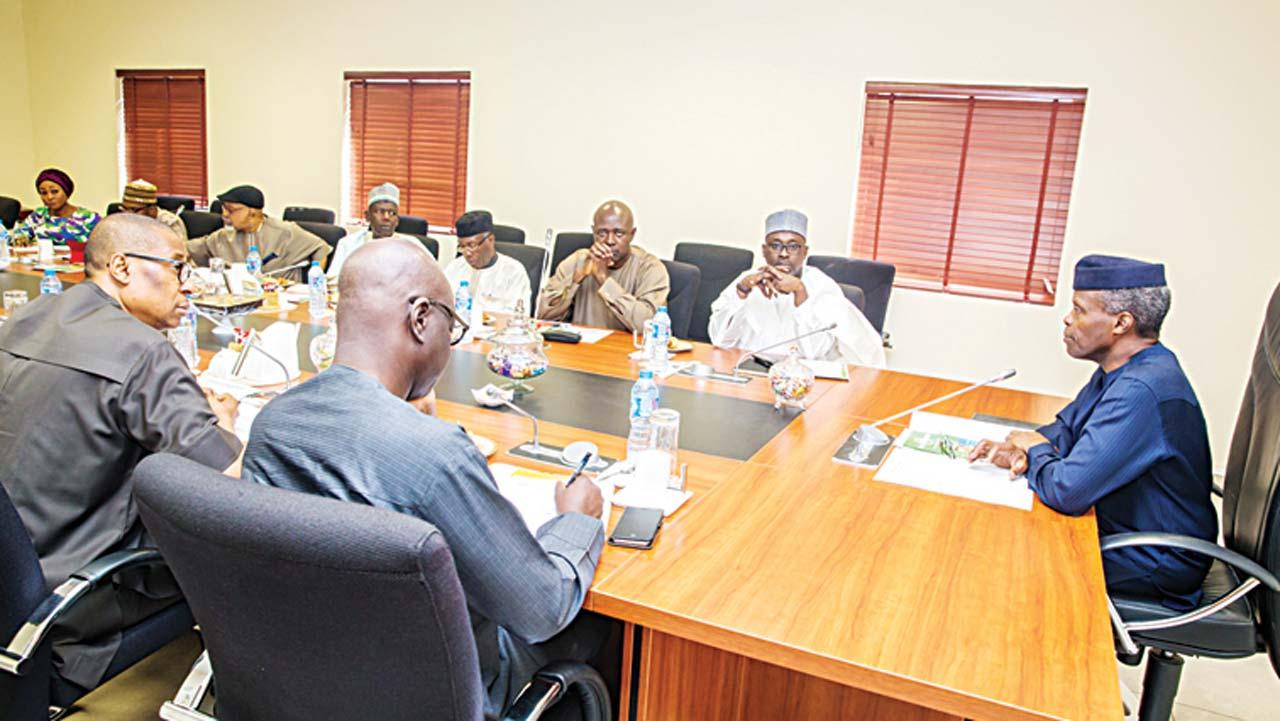 Osinbajo meets Presidential Task Force on food security
