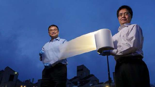 Scientists make thin material that acts as air conditioner