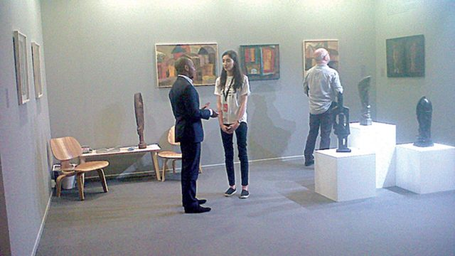 D Painting Exhibition In Dubai : Africa lifted at dubai art global