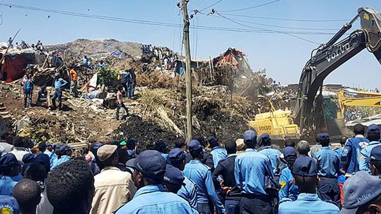 Image result for Ethiopia landslide death toll rises to 60