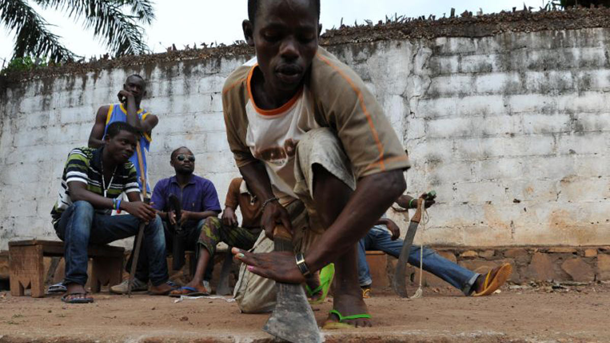 news least killed armed cafrica locals