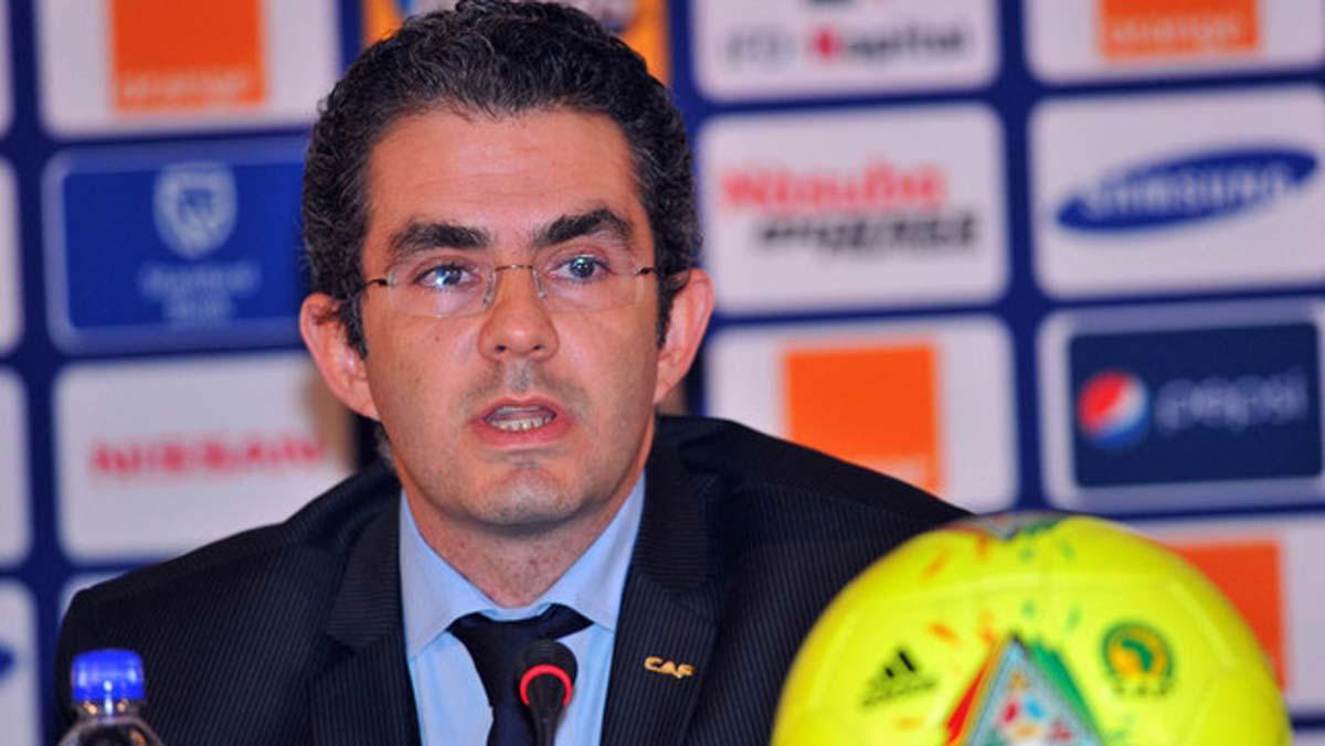 Image result for CAF secretary-general El Amrani quits