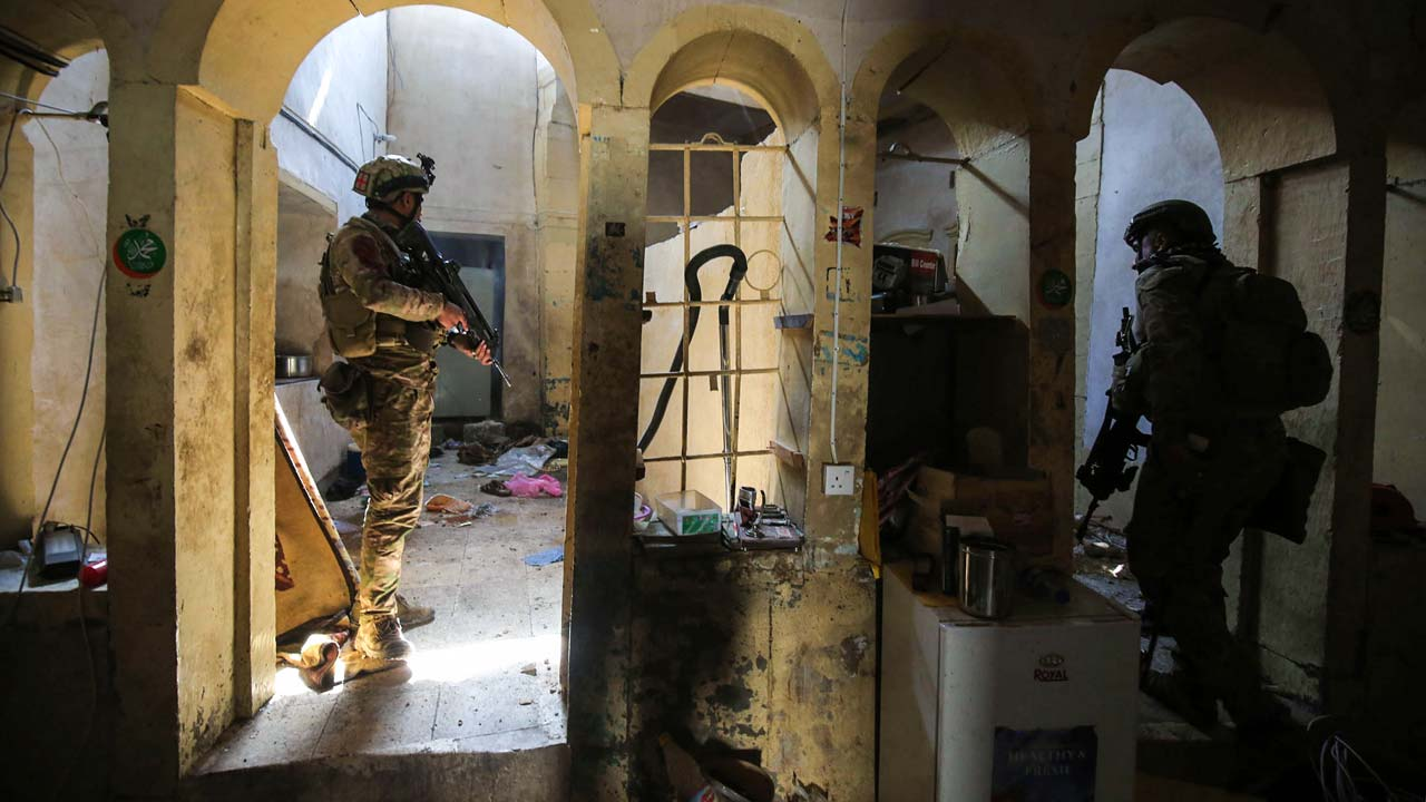 Fierce fighting on outskirts of Mosul Old City