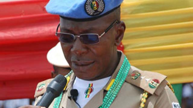 Image result for nigerian peace corps commandant