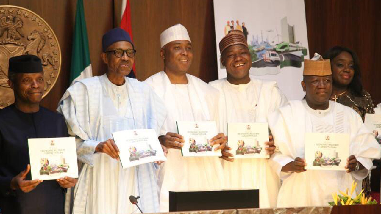 Buhari launches economic recovery plan, vows to change Nigeria for good