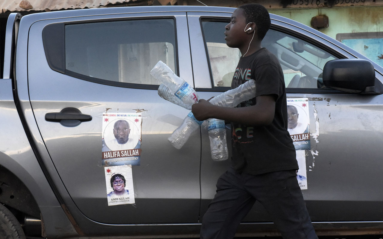 The Gambia prepares for first post-Jammeh poll