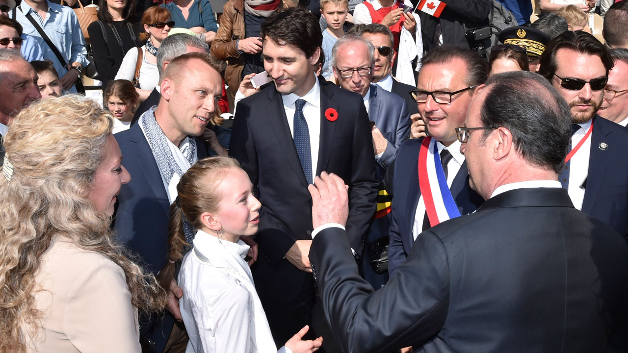 Justin Trudeau, British royal family in France to commemorate Vimy Ridge