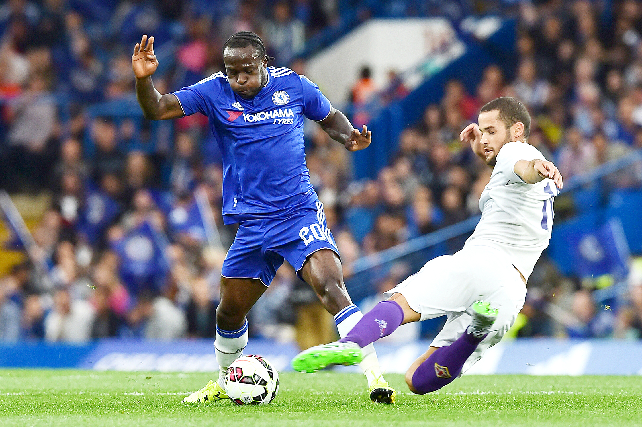 Moses out of Manchester City clash